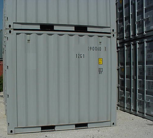 New 10' Steel Containers